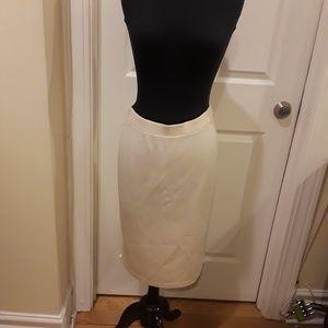 St John Cream Skirt